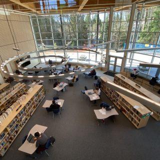 Argyle's new library