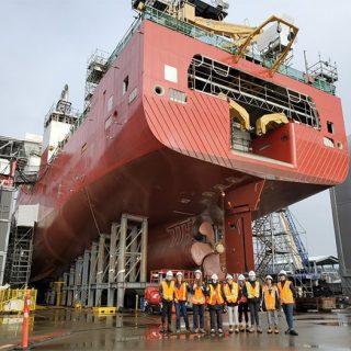 Co-op Careers Fieldtrip to Seaspan