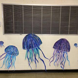 Hallway Art Mural