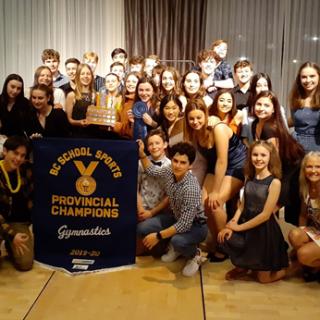B.C. Gymnastics Team Champions