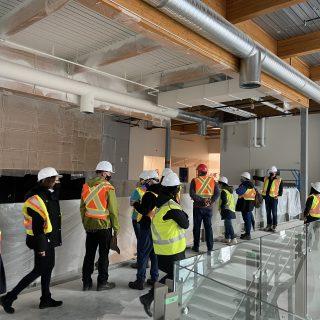 Construction of new school (Fall 2020)